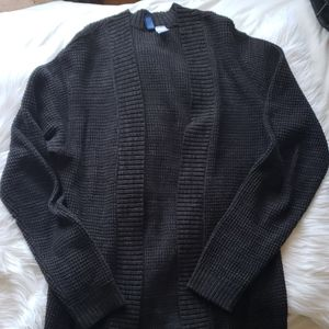 H&M Black Long Sleeve Cardigan